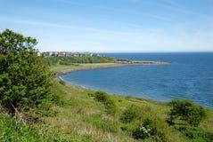 Прибрежная деревня, файф, Шотландия Стоковое Изображение RF