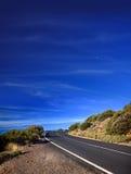 прибрежная замотка дороги Стоковое фото RF