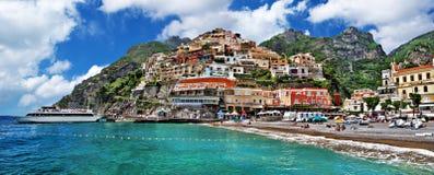 Прибрежная Италия - Positano стоковая фотография rf