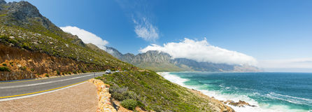 Прибрежная дорога Южная Африка стоковые фото