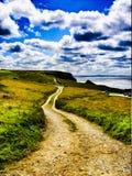 Прибрежная дорога Стоковые Изображения RF