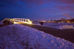 Прибрежная полоса озера в Milwaukee Стоковые Фотографии RF