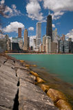 прибрежная полоса озера chicago Стоковые Изображения