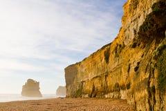 Прибрежная скала - 12 апостола Стоковые Фотографии RF