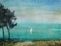 Прибрежная скала sailfish бесплатная иллюстрация