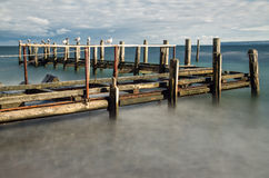 Прибрежная сцена стоковое изображение rf