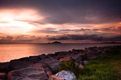 прибрежная съемка Hong Kong стоковые фото