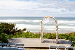 Прибрежное место венчания Стоковые Фото