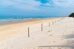 Прибрежное место ремонта песчанной дюны Стоковые Изображения