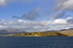 прибрежное место Шотландия Стоковое Изображение