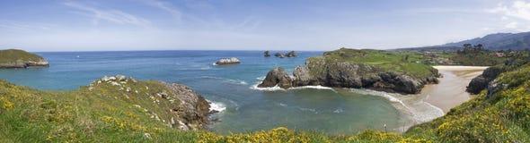 прибрежное панорамное Стоковое Изображение