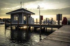 Прибрежное прожитие на побережье Великих озер Стоковые Изображения
