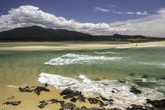 Прибрежное сценарное Стоковые Фотографии RF