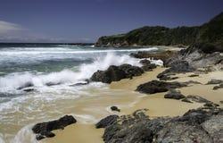 Прибрежное сценарное Стоковые Фото