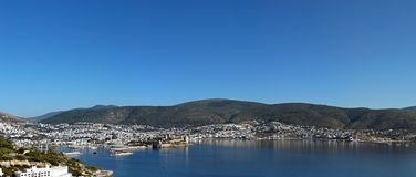Прибрежное Bodrum, Турция Стоковые Фотографии RF