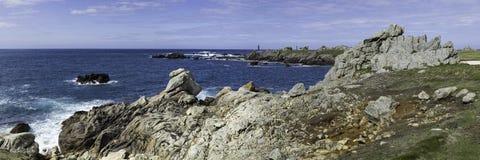 прибрежное vico sorrento меты ландшафта equense Стоковые Изображения RF