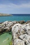 прибрежное vico sorrento меты ландшафта equense Стоковое фото RF