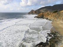 Прибрежные банкы Калифорнии Стоковые Фото