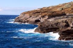 прибрежные волны Стоковое Фото