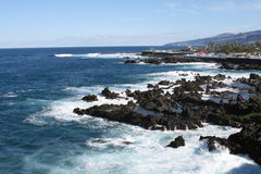 прибрежные волны Стоковая Фотография