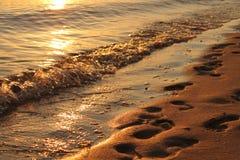 Прибрежные волны Стоковые Изображения RF