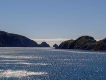 Прибрежные воды от парома Новой Зеландии Стоковая Фотография RF