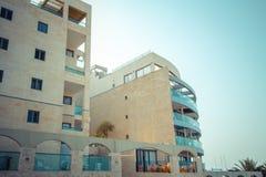 Прибрежные квартиры в Израиле. Ashkelon Стоковые Изображения RF