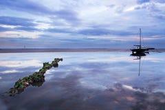 Прибрежные отражения Стоковые Фотографии RF