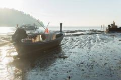 Прибрежные рыбацкие лодки Стоковая Фотография RF