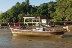 Прибрежные рыбацкие лодки Стоковые Фотографии RF