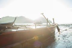 Прибрежные рыбацкие лодки Стоковое Изображение RF