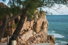 Прибрежные скалы Стоковая Фотография