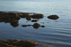 Прибрежный вечер Стоковые Фото