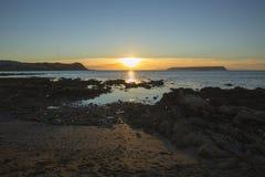 Прибрежный вечер Стоковые Изображения RF