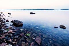 Прибрежный восход солнца Стоковые Изображения RF