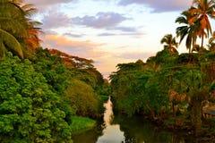 Прибрежный водный путь Стоковое Изображение RF