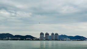 Прибрежный город стоковая фотография