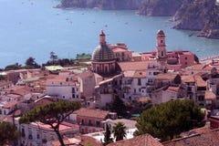 прибрежный итальянский городок Стоковые Фотографии RF