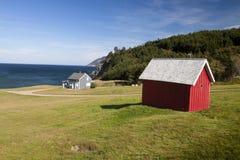 прибрежный ландшафт Nova Scotia Стоковое Изображение