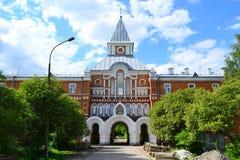 Прибрежный монастырь St Sergius Церковь Sava Stratilat стоковое изображение rf