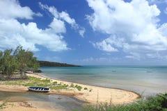 Прибрежный пейзаж, остров Rodrigues Стоковые Изображения