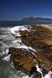 прибрежный пейзаж утесов Стоковые Фото
