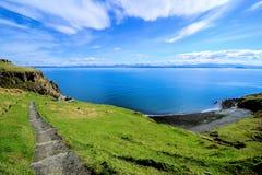 прибрежный scottish ландшафта Стоковая Фотография