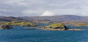 прибрежный scottish ландшафта острова Стоковое Изображение