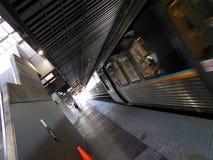 Прибытие 2 поезда MARTA Стоковые Изображения RF