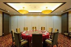 приватная комната ресторана Стоковая Фотография RF