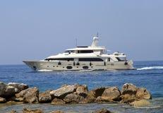 Приватная роскошная яхта Стоковое фото RF