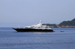 Приватная роскошная яхта Стоковое Изображение RF
