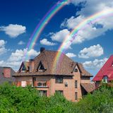 Приватная дом Стоковые Фото