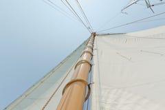 приватное ветрило осматривает яхту стоковое изображение rf
